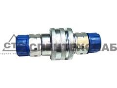 "Муфта разрывная S24 (ЕВРО клапан) аналог Inter 1/2"" ISO A BSP М20х1,5-М20х1,5"