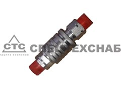 "Муфта разрывная S32 (ЕВРО клапан) аналог Inter 3/4"" ISO A BSP М27х1,5-М27х1,5"
