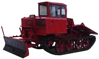 ТРАКТОР ТДТ-55 (трелевочник)