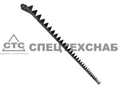 Нож режущего аппарата жатки трав. ДОН-680 прав. (п. 95 г.) 2,5 м. 100.70.05.580