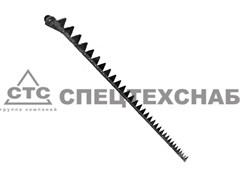Нож режущего аппарата жатки трав. ДОН-680 лев. (2,5 м.) 100.70.05.020А