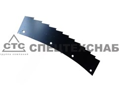 Нож режущего аппарата жатки роторной ДОН-680 100.33.02.423