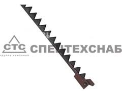 Нож режущего аппарата жатки НИВА 5 м. Р.232.10.000