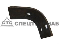 Нож измельчающего аппарата (кривой) КИР 02.0.5023
