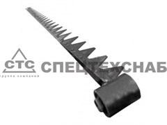 Нож режущего аппарата жатки 2,37 м КСК-100 (правый КИС 0205040В