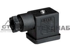 Разъем электрический гнездовой 2P+T-C18 DIN43650 406029