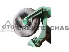 Колесо сцепки флюгерное СП-16К с кронштейном в сб. СП16К-04.000