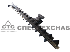Нож режущего аппарата жатки ЖРБ-4,2 (ниж.)