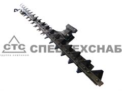 Нож режущего аппарата жатки ЖРБ-4,2 (верх.)