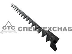 Нож режущего аппарата жатки ЖВН 6 м. ЖВН 01.240