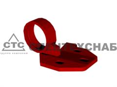 Опора (корпус подшипника) вальца левая ППК-81.01.06.180-01