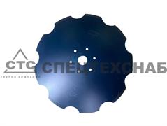Диск БДТМ (Ромашка) BELLOTA (6 квадр. отв.) 560х6мм 780.21.01.001Н/DI.QC.LE-1905-6-22-MR455