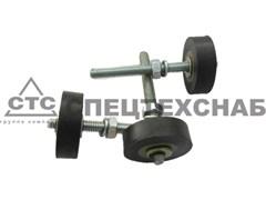 Ролик задвижки в сборе с осью и кронштейном ЗАВ (Ф40 мм) Б/А-6060