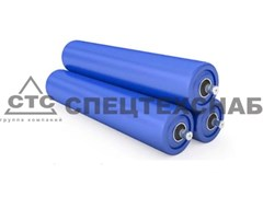 Ролик конвейерный L-550 мм, Ф102 мм Б/А-6063