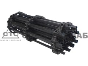 Транспортер цепной накл. камеры Вектор, ДОН-1200 L=2812 мм 3518050-18350Б