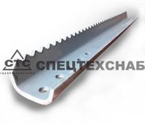 Планка (гребенка) транспортера НК  АКРОС, L-526 мм, т.4 мм 3518060-141032