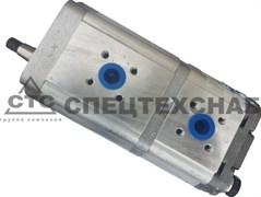 Насос 20-10 ГИДРОСИЛА (аналог Бондиоли HPLPB220SPMX6X4B208X5X4ST) КЗС-1218 шлиц. вал GP2K20/2K10L-F291CC-V